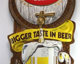 Falls City Beer Wall Sign-Bar Advertising