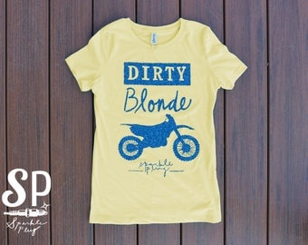Dirty Blonde Women's Dirt Bike/Motocross Shirt