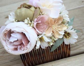 Garden Wedding Comb