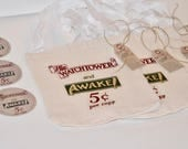 Reproduction of 1930's Bag - Jw Pioneer Gifts - Jw Gift Bag - Jw Gifts for Pioneers - Jw Gifts Elders