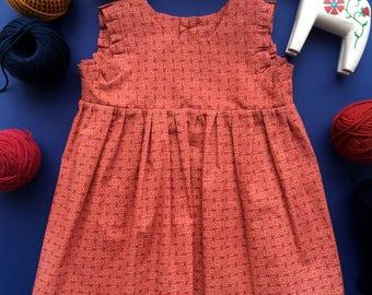 Little dress - little Vendee (red)