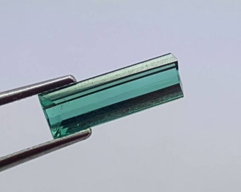 0.95 Carat Blue Color Loose Gemstone Tourmaline @ Afghanistan 12.5*5*4mm  (8)