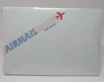 Vintage Hallmark AirMail Envelopes, set of 25 Sheer envelopes, Par Avion Envelopes