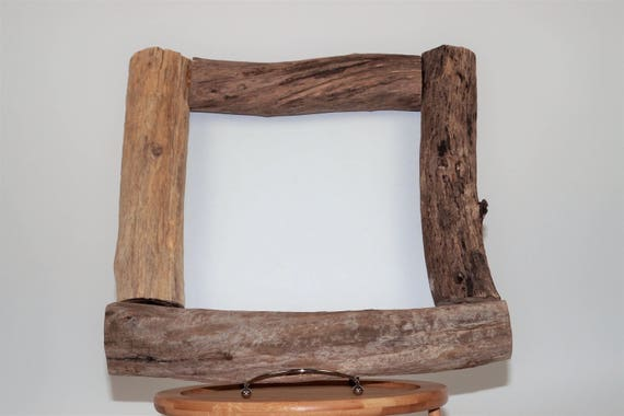 10x10 natural driftwood picture frame boho beach frankiesframeshop pl012 - Driftwood Picture Frame