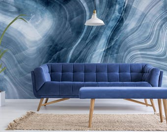 Geode Marble - Texture - Adhesive Wallpaper - Removable Wallpaper - Wall Sticker - Wall Mural - Customizable Wallpaper
