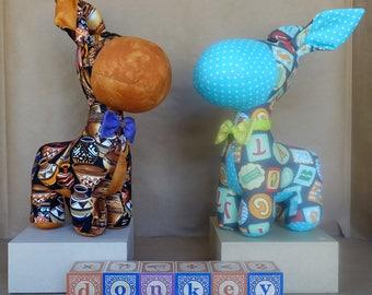 Stuffed Donkey - Cutom Order