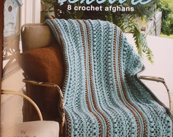 Stylish Texture:  8 crochet afghans.