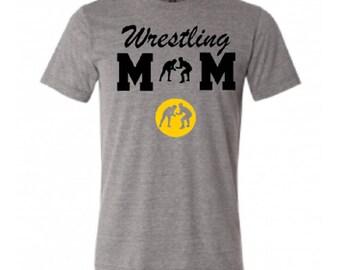 Wrestling shirt, School shirt, Wrestling Mom Shirt, School Spirit, Custom Shirt, Personalized Shirt