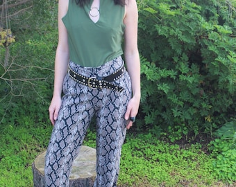Vintage Snake In The Grass Trousers