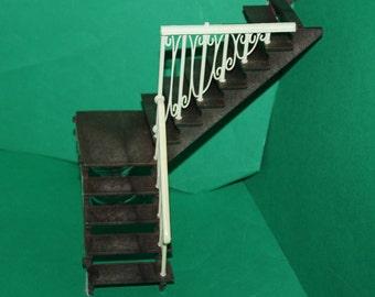 Vintage Dolls House Lundby Stockholm Spiral Staircase