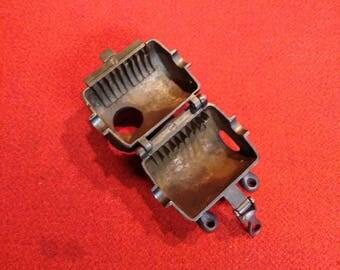 Antique Cast Iron Tobacco Shredder Chopper Cutter