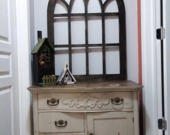 Handmade Pointy, Cathedrial Window Frame