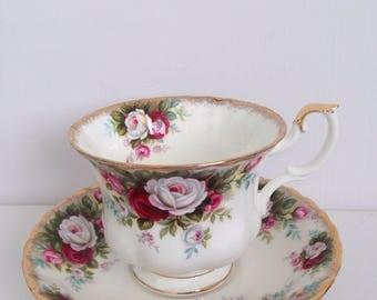 Royal Albert Celebration Cup and Saucer, Bone China