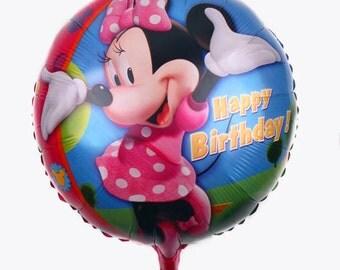 """18"""" foil Minnie Mouse Balloon   AJ33"""