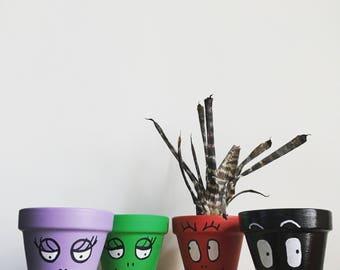 Cotton candy flower pot - barbapots