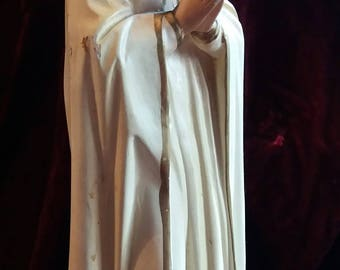 beautiful plaster virgin mary statue rare mystical rose