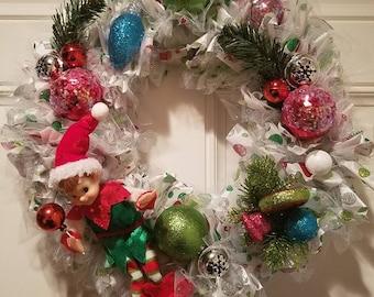 Santa's Helper- Door Wreath