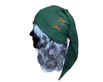 The Legend of Zelda Link hat. Handmade hat. Green hat. Game, videogame, geek, gamer, nerd. Link cosplay, Zelda cosplay. Zelda hat. Costume.
