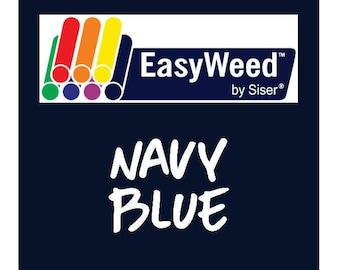 Siser EasyWeed Heat Transfer Vinyl - HTV - Navy Blue