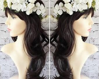 White Flower Crown