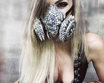 Rave Mask, Burning Man Mask, Dust Mask, Burning Man Clothing, Burning Man Dust Mask, Festival Clothing, Burning Man Costume, Respirator