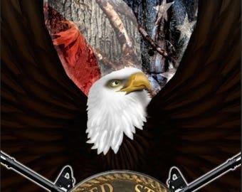 Marine Eagle Gun Flag Camo Cornhole Wrap Bag Toss Decal Baggo Skin Sticker Wraps