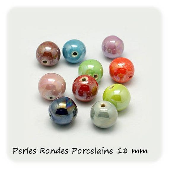 1 Perle céramique 18 mm