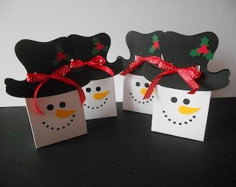 Gift box * snowman *.
