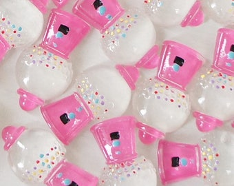 Gumball Machine (17mmX29mm) Flat Back Deco Decoden ABS Resin Cabochons Embellishments Scrapbooking Craft DIY (WHOLESALE)