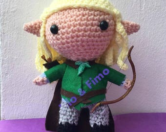 Legolas - The Lord of the Rings - Chibi Doll Amigurumi