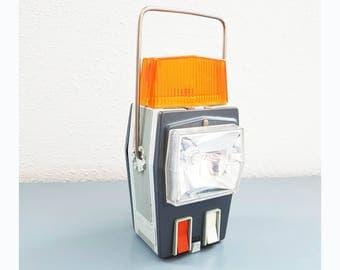 "Vintage ""Auto sport luxembourg"" Auto Breakdown Signal Lamp / flashlight / lamp"