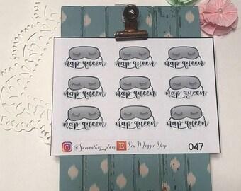 Nap Queen Planner Stickers