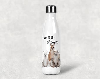 One single (1) Llama Drama Thermal tumbler, birthday tumbler, swell-inspired, Christmas Gifts, Funny tumblers, LLama mama, Water Bottle