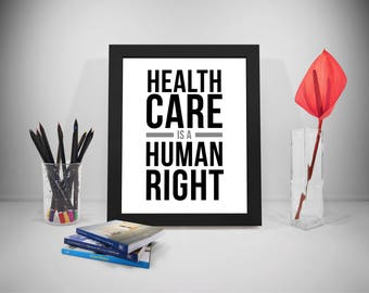Health Care Is A Human Right, Health Care Worker Gifts, Health Care Gifts