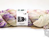Fraggle Rock - Hand Dyed/Superwash Merino/Cat's Cradle Speckles