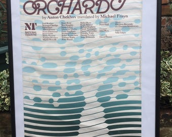 Vintage National Theatre Poster for The Cherry Orchard