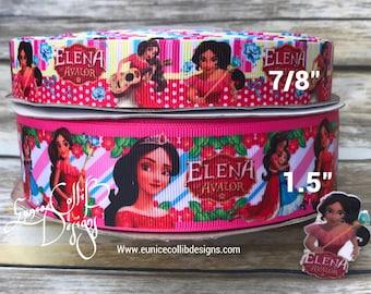 Elena inspired grosgrain ribbon