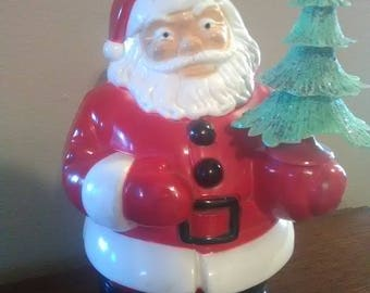 "Collectible Vintage Plastic 7 1/4"" Santa Clause"