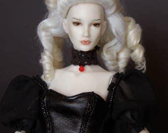 Art porcelain ball jointed doll BJD 1/6
