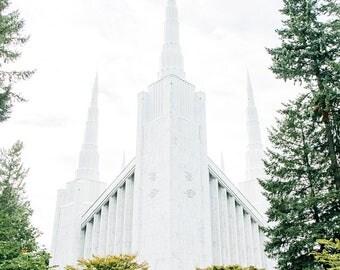 Portland Oregon Temple 5