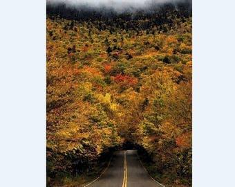 Adirondack Poster, Adirondack Autumn Photo, Adirondack Landscape, Adirondack Wall Decor, Adirondack Art, Adirondack Mountains, ADK Art Gift