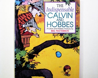 """Vintage Comic """"The Indispensable Calvin and Hobbes"""" by Bill Waterson"""