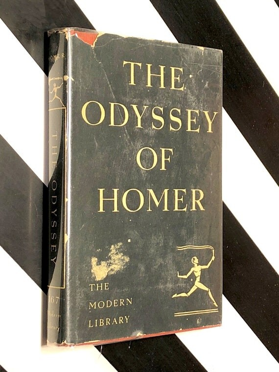 The Odyssey of Homer (1950) Modern Library hardcover book