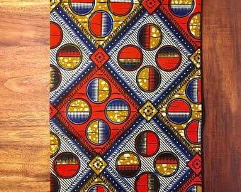Julius Holland African Fabric Waxblock Design / Full 6 Yards