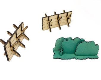 Medieval Barrier Set