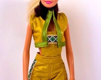 Barbie clothes - Barbie shorts, Barbie jacket - Barbie doll clothes