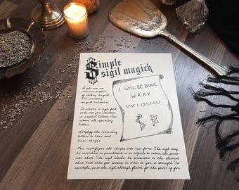Simple Sigil Magic