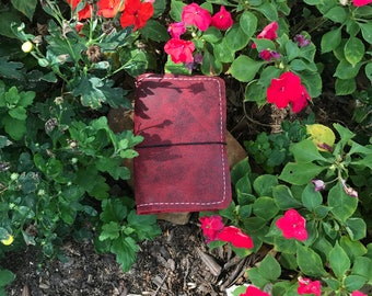 Brick Red Notebook, A6, Travelers Notebook,