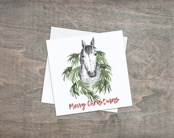 Christmas Wreath - Pack of 4 Cards