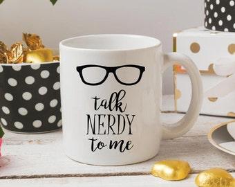 Nerd Coffee Mug - Nerd Coffee Cup - College Student Gift - Nerd Mug - Mug for Nerds - Cute Nerd Cup - Funny Coffee Mug - Coffee Mug Nerd